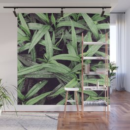 Green is the new black Wall Mural