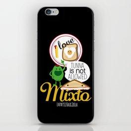 I LOVE MIXTO iPhone Skin