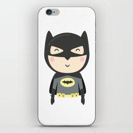 Bat-kid iPhone Skin