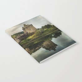 Landscape with an old castle Notebook