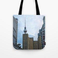 Fernsehturm Berlin - Back Tote Bag