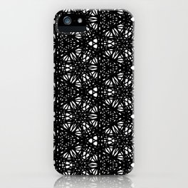 Imperfection pattern iPhone Case