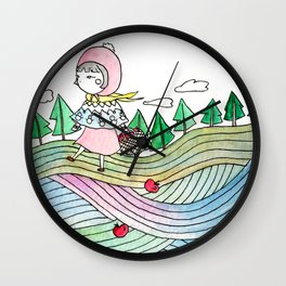 To Grandmother's house we go Wall Clock