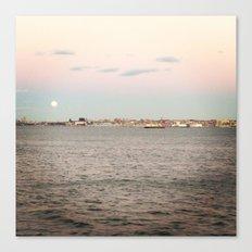 NY Harbor Canvas Print