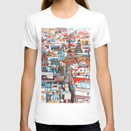 Sevilla buildings T-shirt