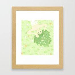 Seabed Framed Art Print