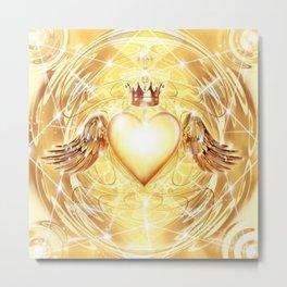 Angelic Heart Metal Print