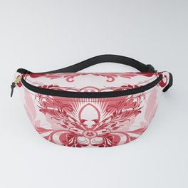 floral ornaments pattern uwi Fanny Pack