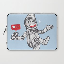 WE CAN'T LIVE WITHOUT SOCIAL MEDIA Laptop Sleeve