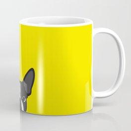 Boston Terrier Yellow Coffee Mug