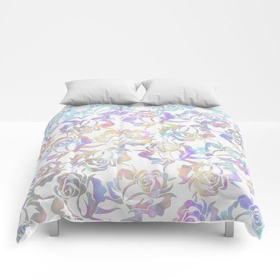 Rose pattern 2 Comforters