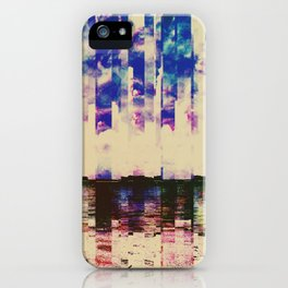 A Day at the Beach Disassembled iPhone Case
