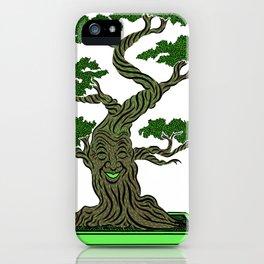 Mr. Bonsai iPhone Case