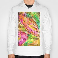 dot Hoodies featuring dot dot by Kras Arts - Fly Me To The Moon