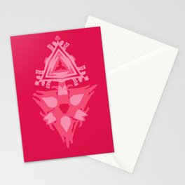 SIGN OPEN HEART Stationery Cards