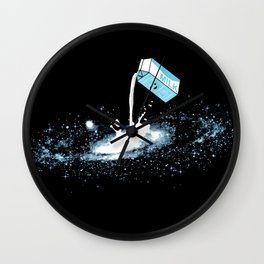 The Milky Way Wall Clock