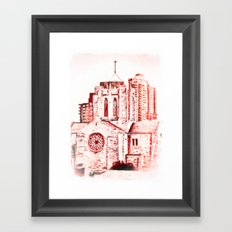 Our Lady Queen of Martyrs Framed Art Print