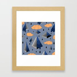 Blue Py Framed Art Print