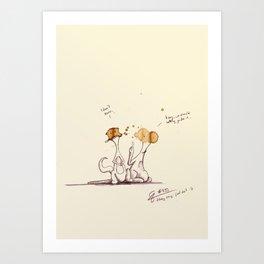 coffeemonsters 493 Art Print