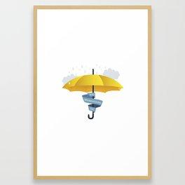 Yellow Umbrella HIMYM Lebenslangerschicksalsschatz Framed Art Print