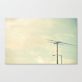 breaktime Canvas Print