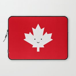 Happy Canada Day Maple Leaf Laptop Sleeve