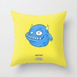 Bounceefluff Throw Pillow