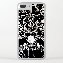 Black Book Series - New World Clear iPhone Case