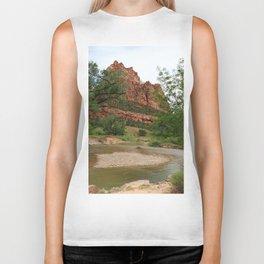 Temple of Sinawava And Virgin River Biker Tank