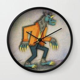 Unicorn Werewolf Wall Clock