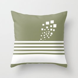 Simple lines Throw Pillow