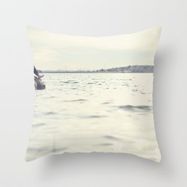 No Need to be Lonely. Throw Pillow