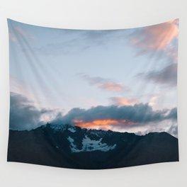 Alaskan Mountain Dawn V Wall Tapestry