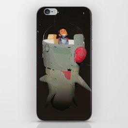 Space kiddo iPhone Skin