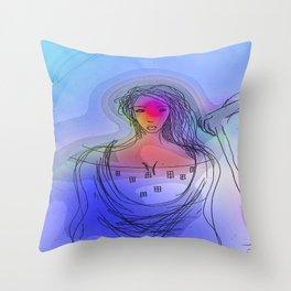 Tarot2 Throw Pillow