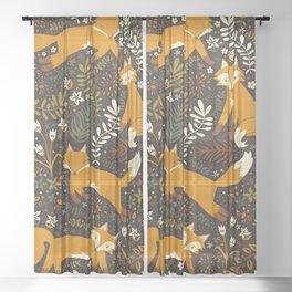 Fox Tales Sheer Curtain