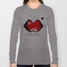 Cherry Red Lips Long Sleeve T-shirt