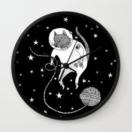Space Cat Proves String Theory Exists Wall Clock