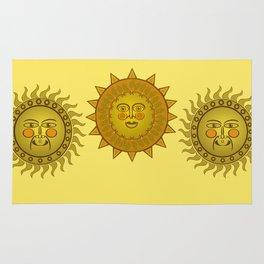 Three Suns Rug