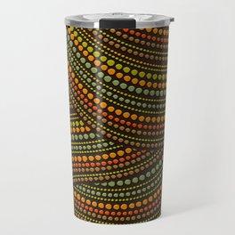 Dot Art Aboriginal Art #1 Travel Mug