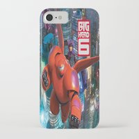 big hero 6 iPhone & iPod Cases featuring Big Hero 6  by store2u