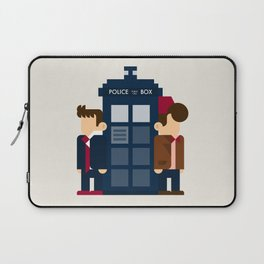Doctor Who 10th & 11th Laptop Sleeve