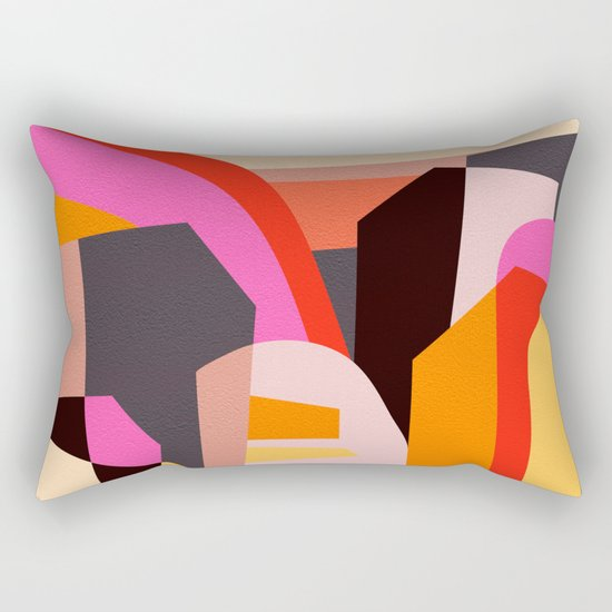 Fragments VI Rectangular Pillow