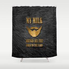 Sexy Beard Shower Curtain
