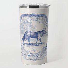 DelftWare Wolf Travel Mug