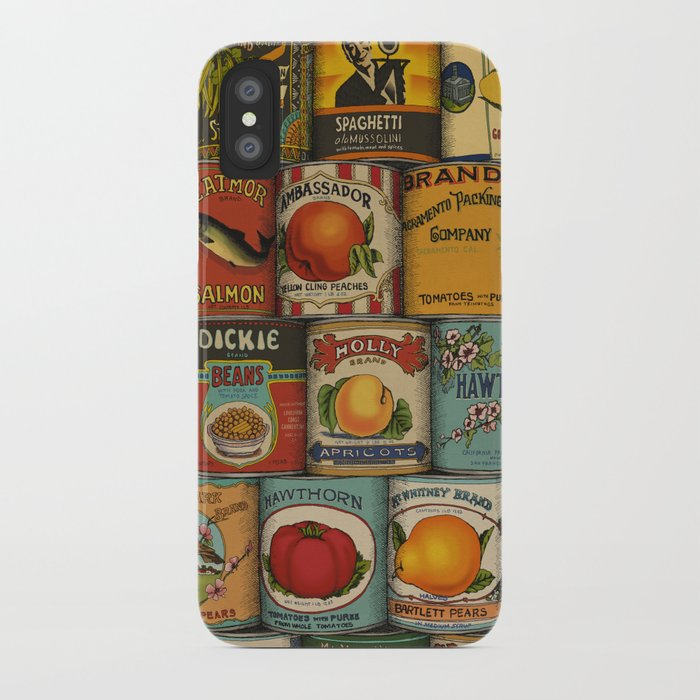 Canned in the USA iPhone Case
