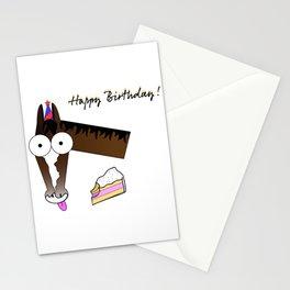 Bug Eyed Pony - Happy Birthday! Stationery Cards