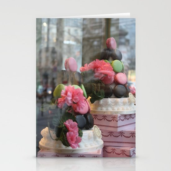 Window Shopping Stationery Cards