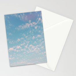 summer clouds / san francisco, california Stationery Cards