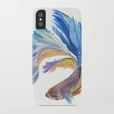 Siamese fighting fish iPhone X Slim Case